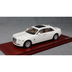 Rolls Royce Ghost LWB in White 2012