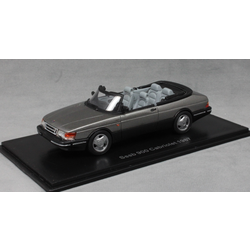 Saab 900 Convertible in Grey Metallic 1987