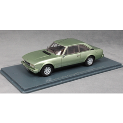 Peugeot 504 Coupe Phase II in Light Green Metallic