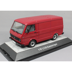 Volkswagen LT28 Van in Dark Red