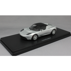 Tesla Roadster in Silver